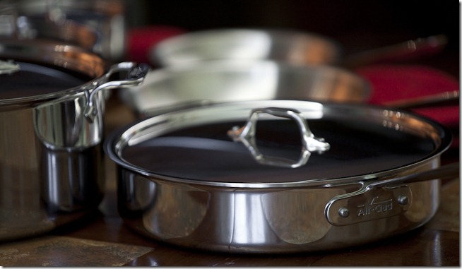 All-Clad Stainles Steel Pots and Pans-4