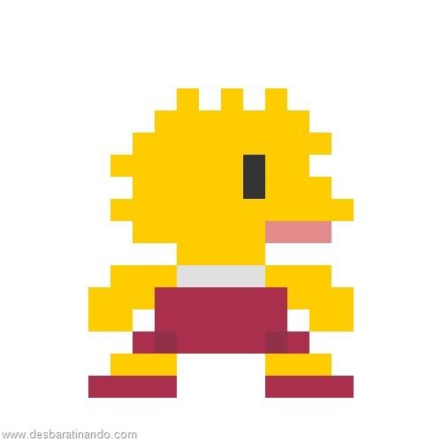 super herois e viloes em 8 bits os simpsons (5)