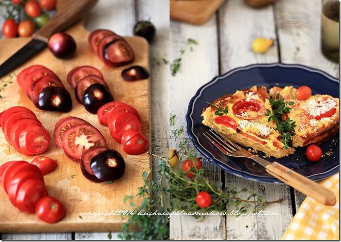 Pomidory mojej mamy i tarta z pomidorami  w wersji klasycznej i bezglutenowej5
