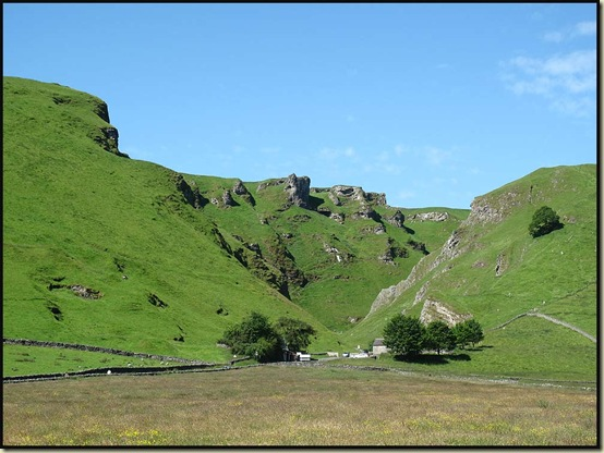 Winnats Pass from Castleton