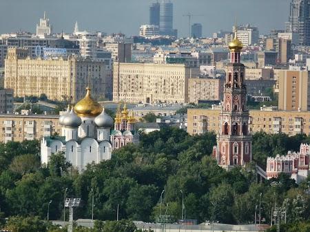 Obiective turistice Moscova: Dealurile Lenin Moscova - Manastirea Novodevich