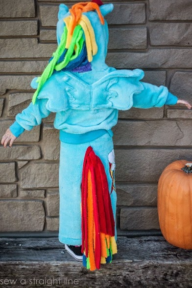 MLP rainbow dash costume sew a straight line-6