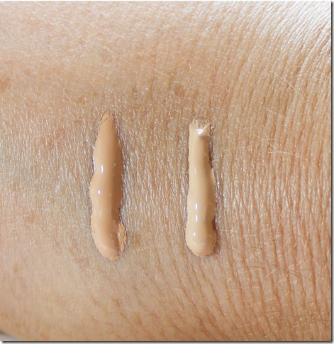 Lumene CC Cream swatch 1