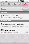 Barra notifiche LG Optimus One