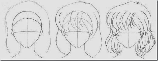How to Draw For Beginners Step by Step - hair