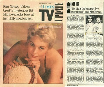 1986-10-05_The Times TV Update_Kim Novak, Falcon Crest's mysterious Kit Marlowe, looks back at her Hollywood career