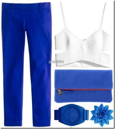 Royal Blue Mix N Match 09