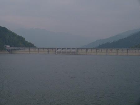 Obiective turistice Neamt: barajul Bicaz