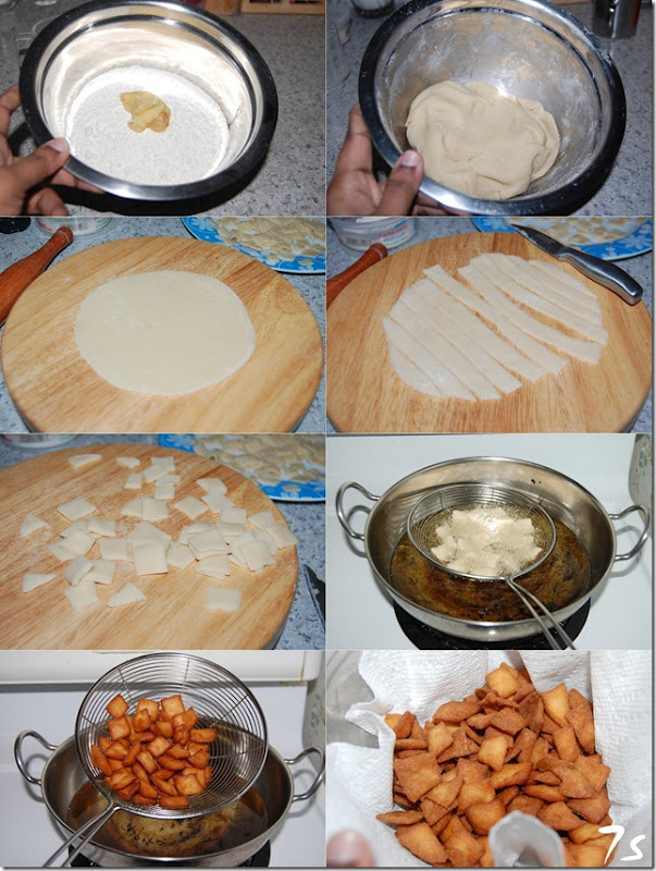 Maida biscuits process