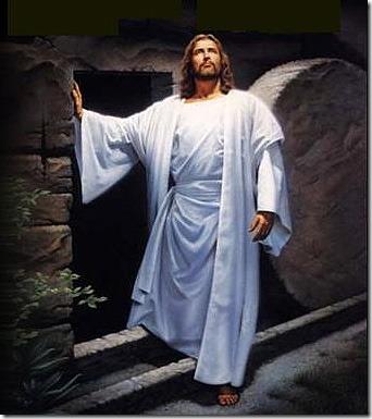 É a ressureição do nosso Senhor Jesus Cristo! FELIZ PÁSCOA