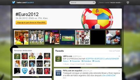 twitter de la eurocopa
