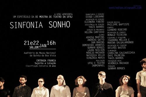 SINFONIA SONHO no Museu Nacional