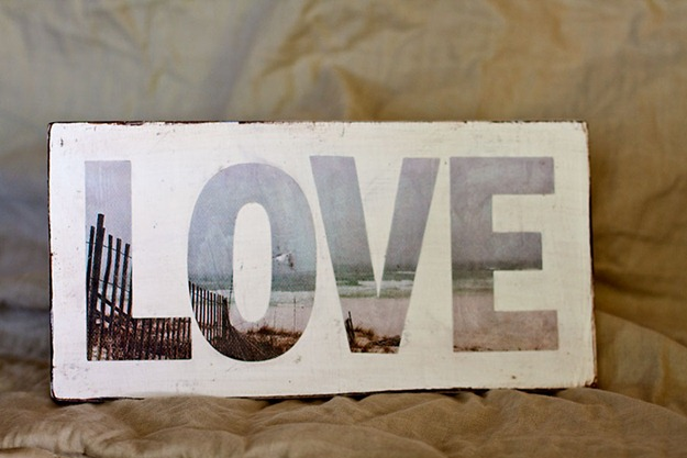 Love ModPodge Sign