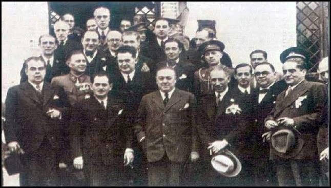 Diego Barrios con el presidente de la Generalitat