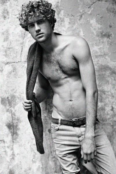 Max Motta  by Txema Yeste for Pull & Bear F/W 2011