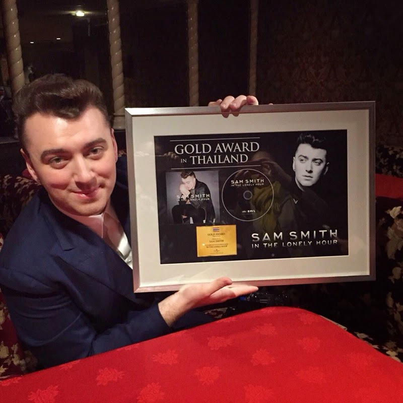 Sam Smith_Gold Award in Thailand