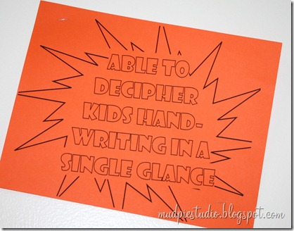 Teacher Appreciation Week - Superhero Day - mudpiestudio@blogspot.com