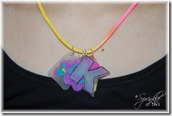 Shrink Art Necklace {A Sprinkle of This . . . . A Dash of That}