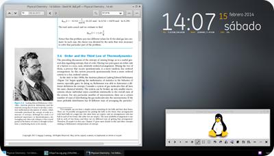 el desktop con xfce5