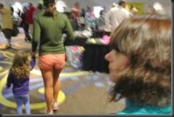 Nope!  NOT looking at the Short Shorts.