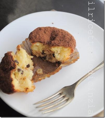 muffin ciocco-pera