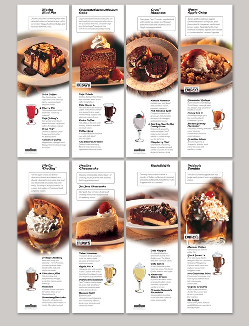 Restaurant Brochure Design Examples  Greatbrochures Of Brochure