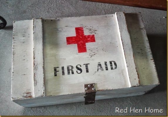 Red Hen Home First Aid Foot Locker