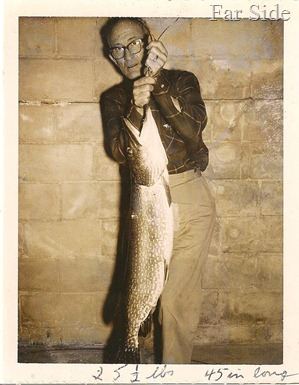 Marvin Feb 1964 25 and a half pounds 45 inches long