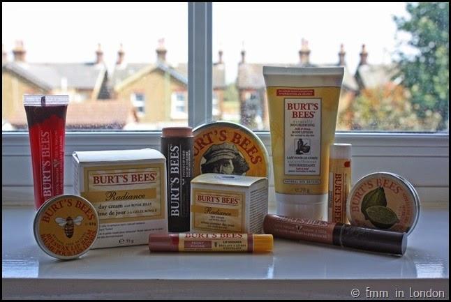 Burt's Bees product range