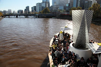 Cool bar along the Yarra