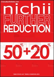 Nichii Further Reduction 2013 Discounts Offer Shopping EverydayOnSales