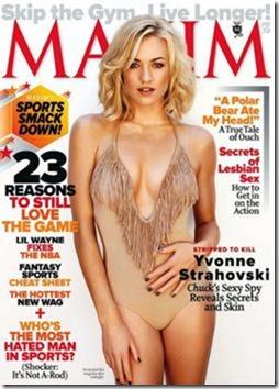 Maxim USA Outubro 2011