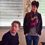Bert Nijmeijer van Noorderbreedte op bezoek bij PrachtigPekela - Foto's Jeannet Stotefalk