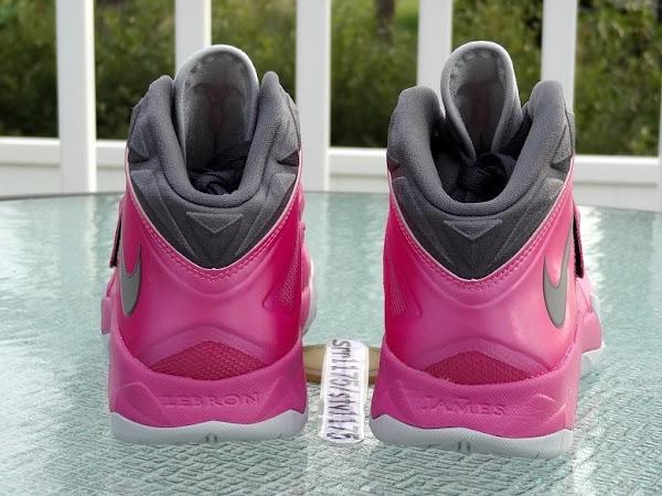 Nike Zoom LeBron Soldier VII 8211 Kay Yow  Think Pink