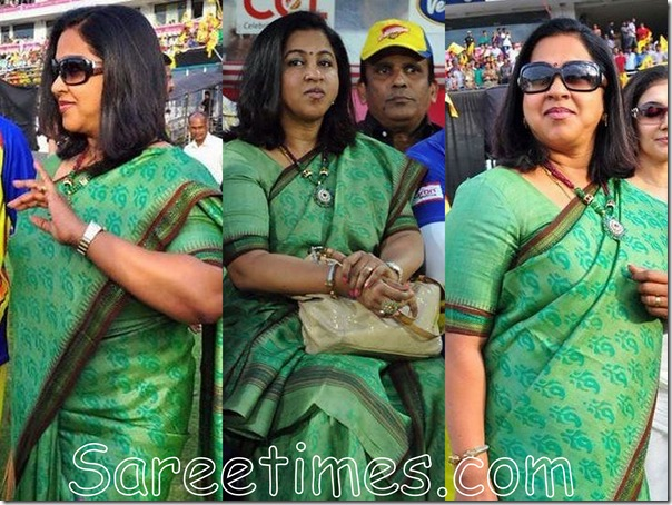 Radhika_Green_Saree