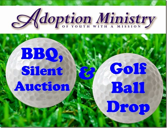 Adoption Ministry of YWAM Golf Ball Drop