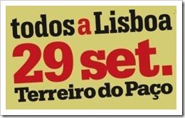 Todos a Lisboa dia 29. Set.2012