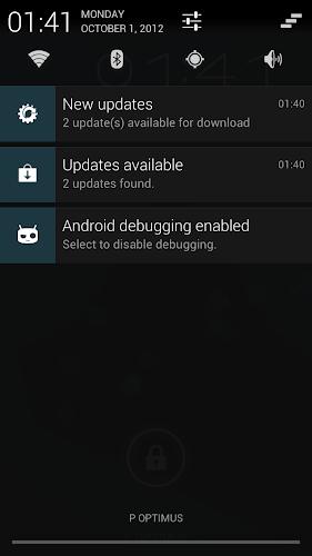 CyanogenMod 10 - aggiornamenti OTA