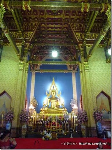 泰國曼谷-大理石寺內部