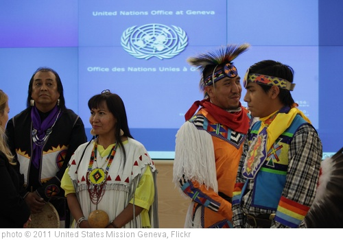 'Yellow Bird Apache Dancers Perform in Human Rights Council Chamber at UN Meeting on Rights of Indigenous Peoples.' photo (c) 2011, United States Mission Geneva - license: http://creativecommons.org/licenses/by-nd/2.0/