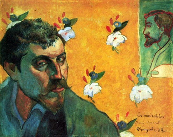 Paul Gauguin - Self Portrait_ Les Miserables