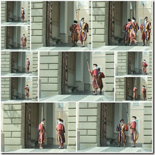 swiss-guard-castel-gandolfo-collage