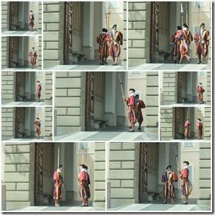 swiss-guard-castel-gandolfo-collage