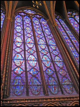 Ste Chapelle window