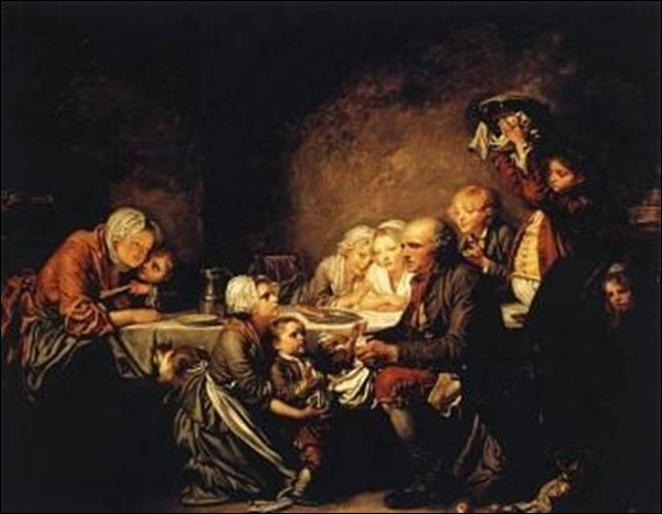 Baptiste Greuze, Le gâteau des rois