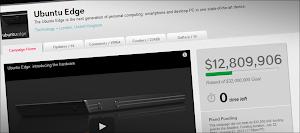 la raccolta fondi per Ubuntu Edge terminata con 12.800.000 dollari