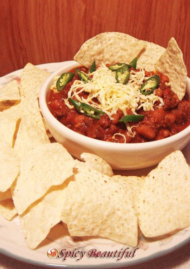 Spicy Beautiful: Slow Cooker Sunday: Spicy Beef Chili