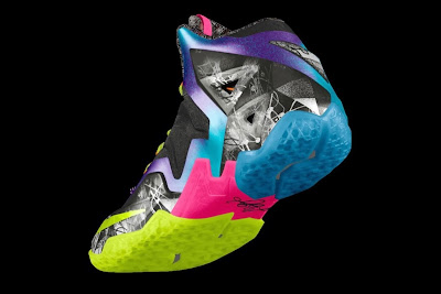 nike lebron 11 id allstar 2 03 gumbo Nike Unleashed Endless Possibilities with LeBron 11 Gumbo iD!