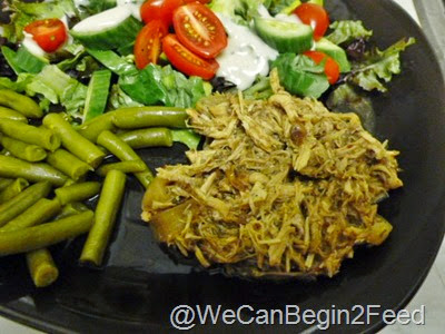 Cranberry Pulled Pork in the Crockpot