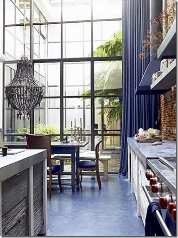 Kitchen Loft style